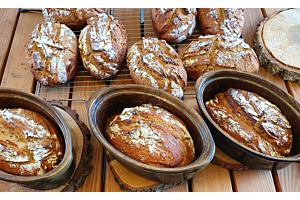 "Unsere ""Oma  Luise Sauerteig""  Brotbackmischung"