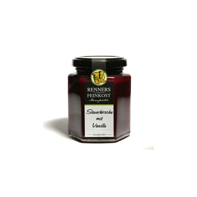 Fruchtaufstrich Sauerkirsche mit Vanille